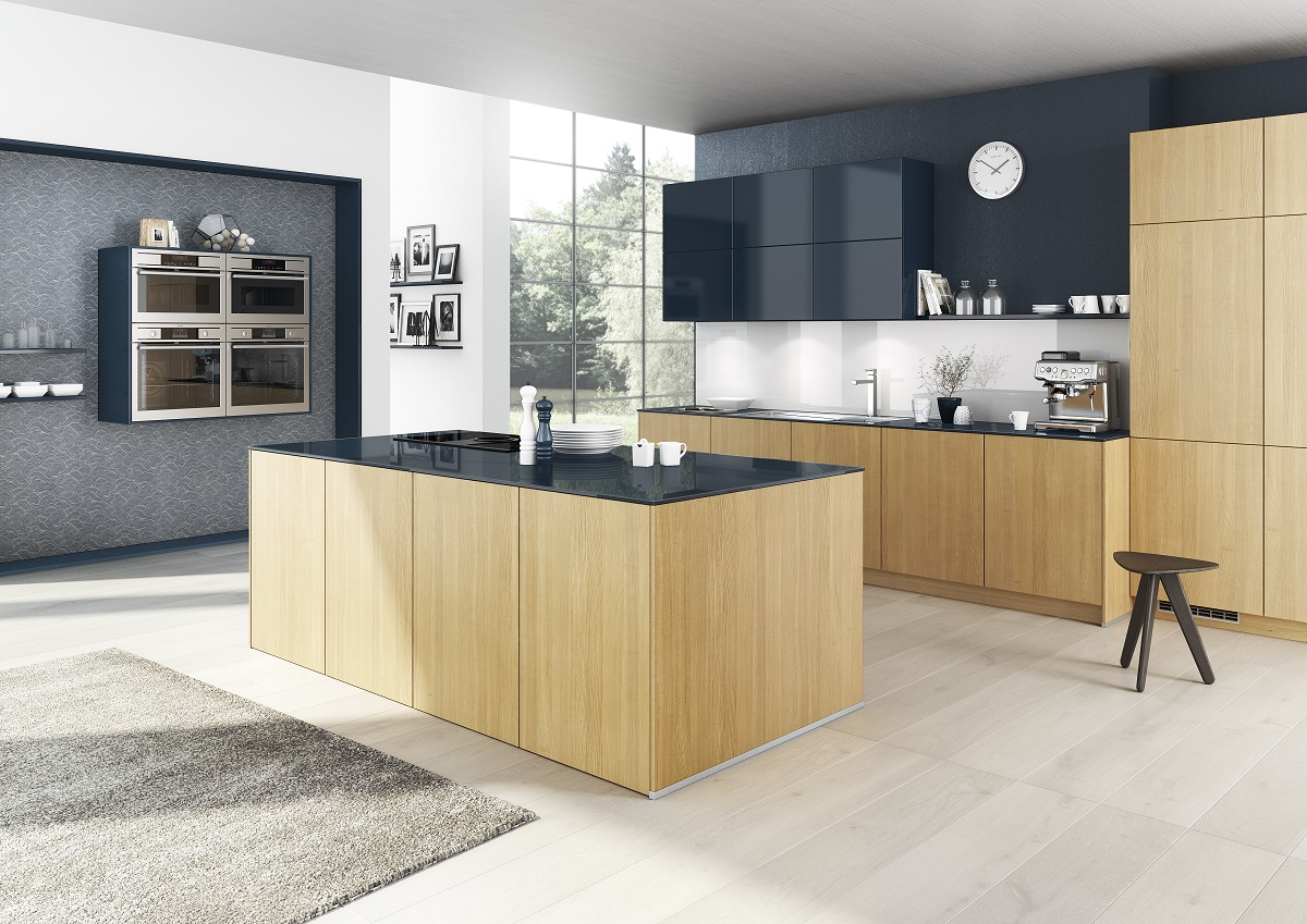 industrial kitchen design made in Germany by Bauformat